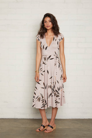 Frankie Wrap Dress - Cane