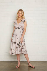 Frankie Wrap Dress - Cane, Maternity