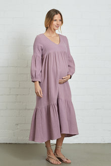 Gauze Cecelia Dress - Maternity