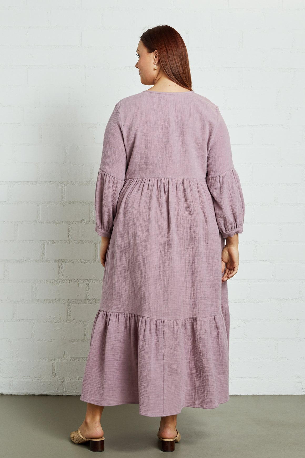 Gauze Cecelia Dress - Plus Size