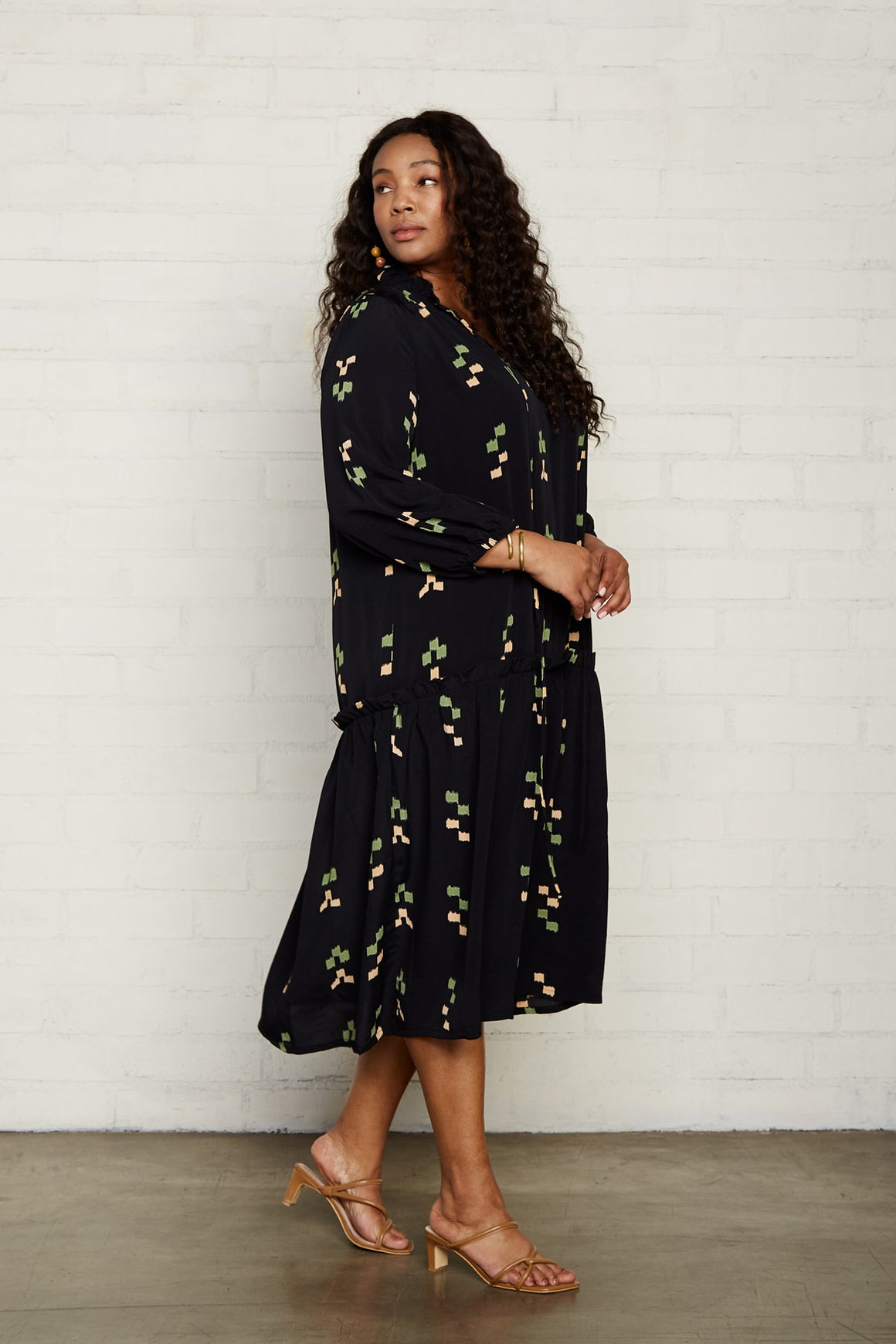Rayon Gail Dress - Plus Size
