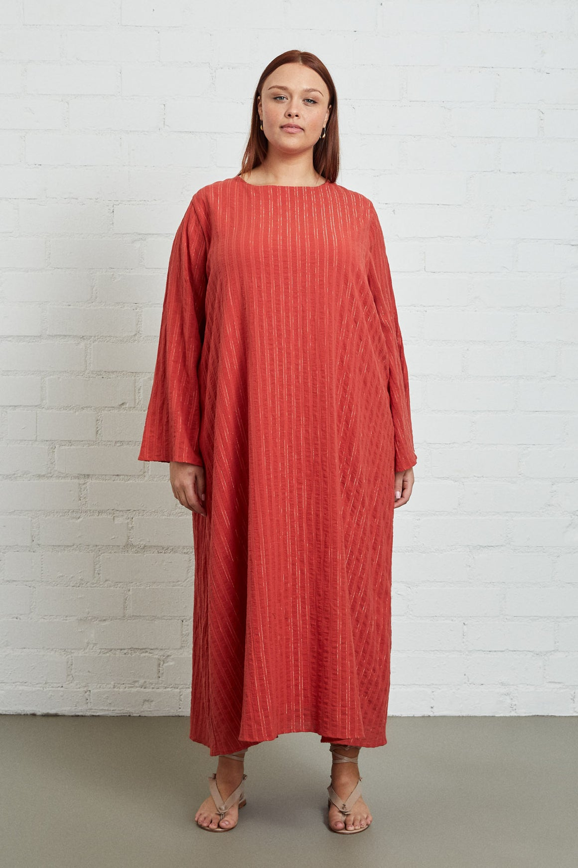 Gauze Leda Dress - Plus Size