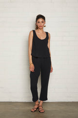 Gauze Mikko Pants - Black