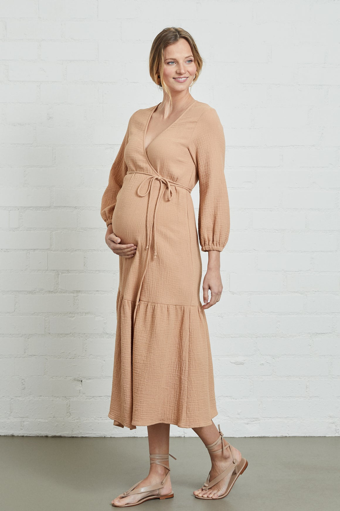 Gauze Dania Dress - Maternity