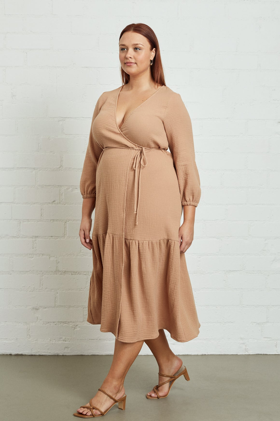 Gauze Dania Dress - Plus Size