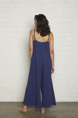 Gauze Hugo Jumpsuit - Sea