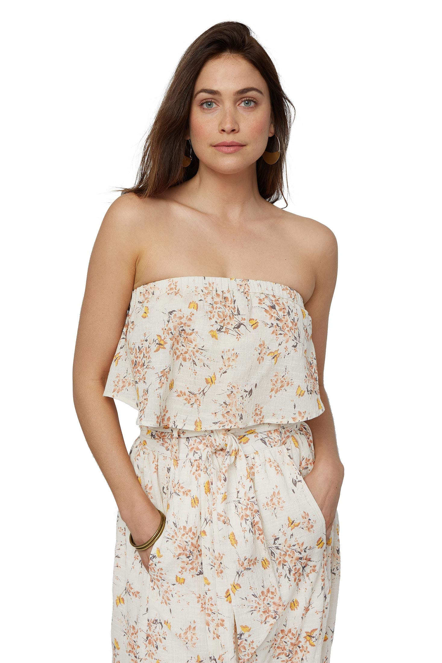 Gauze Romie Top - Butterfly