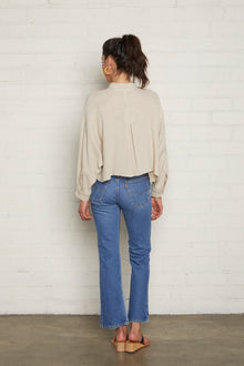 Gauze Willa Top - Almond