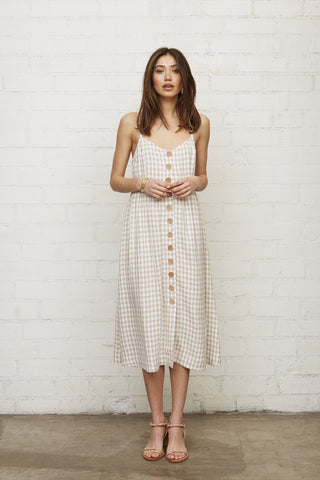 Gingham Clare Dress