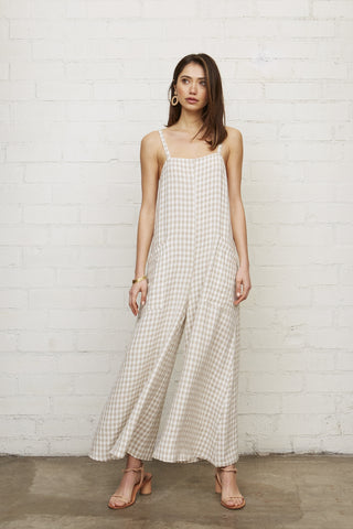 Gingham Darcy Jumpsuit