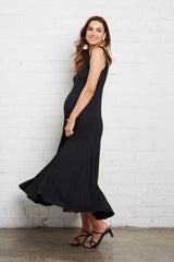 Gloria Dress - Black, Maternity