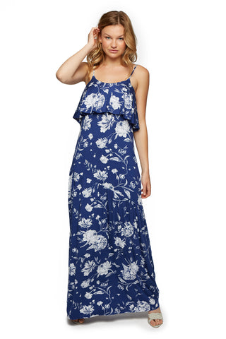 Goldee Dress Print - Seaside Peony