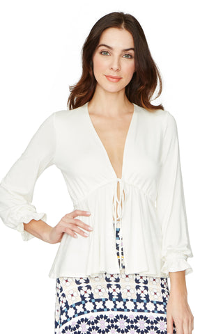 Grayce Top - White
