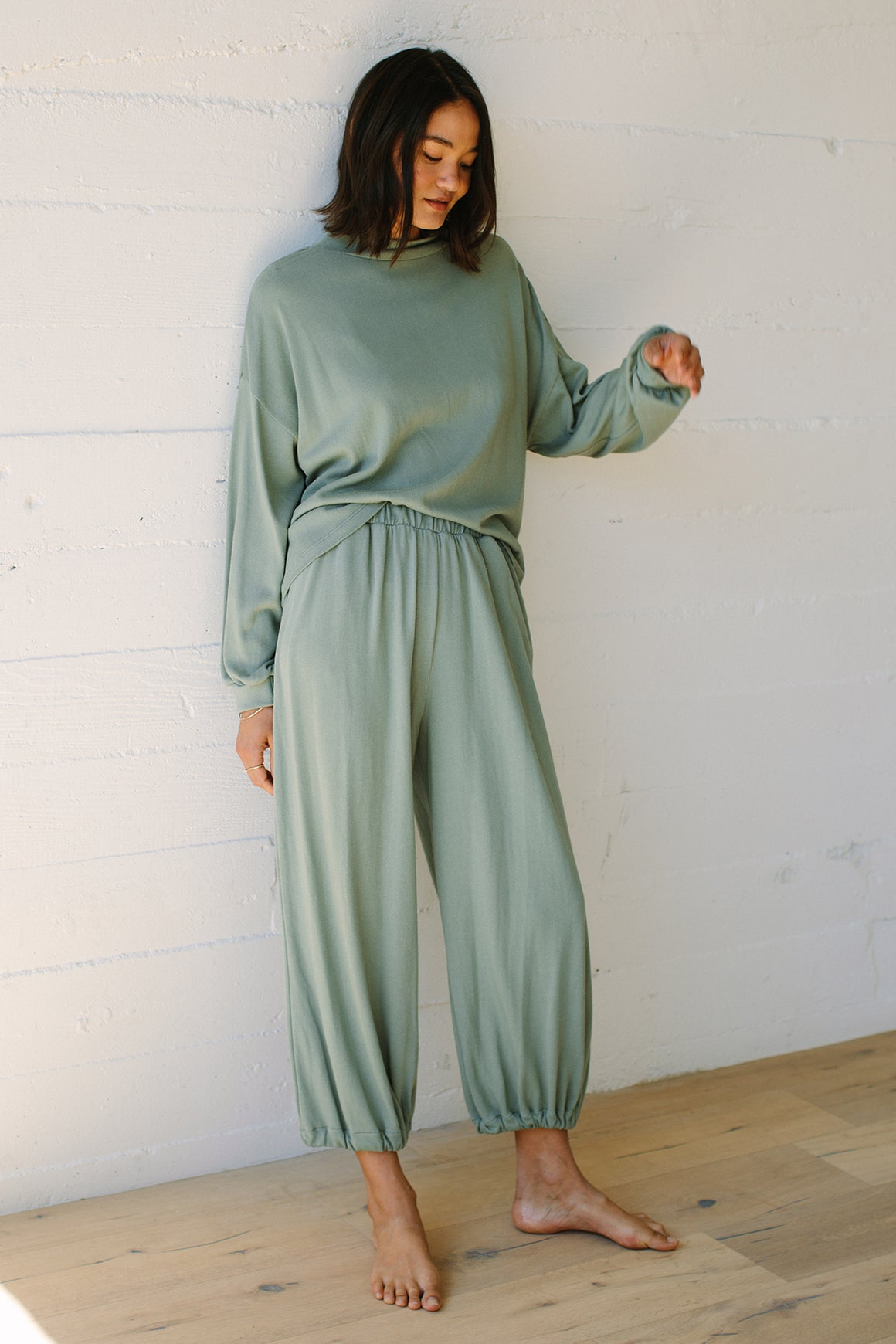Hemp Sweater Rib Tatum Pant