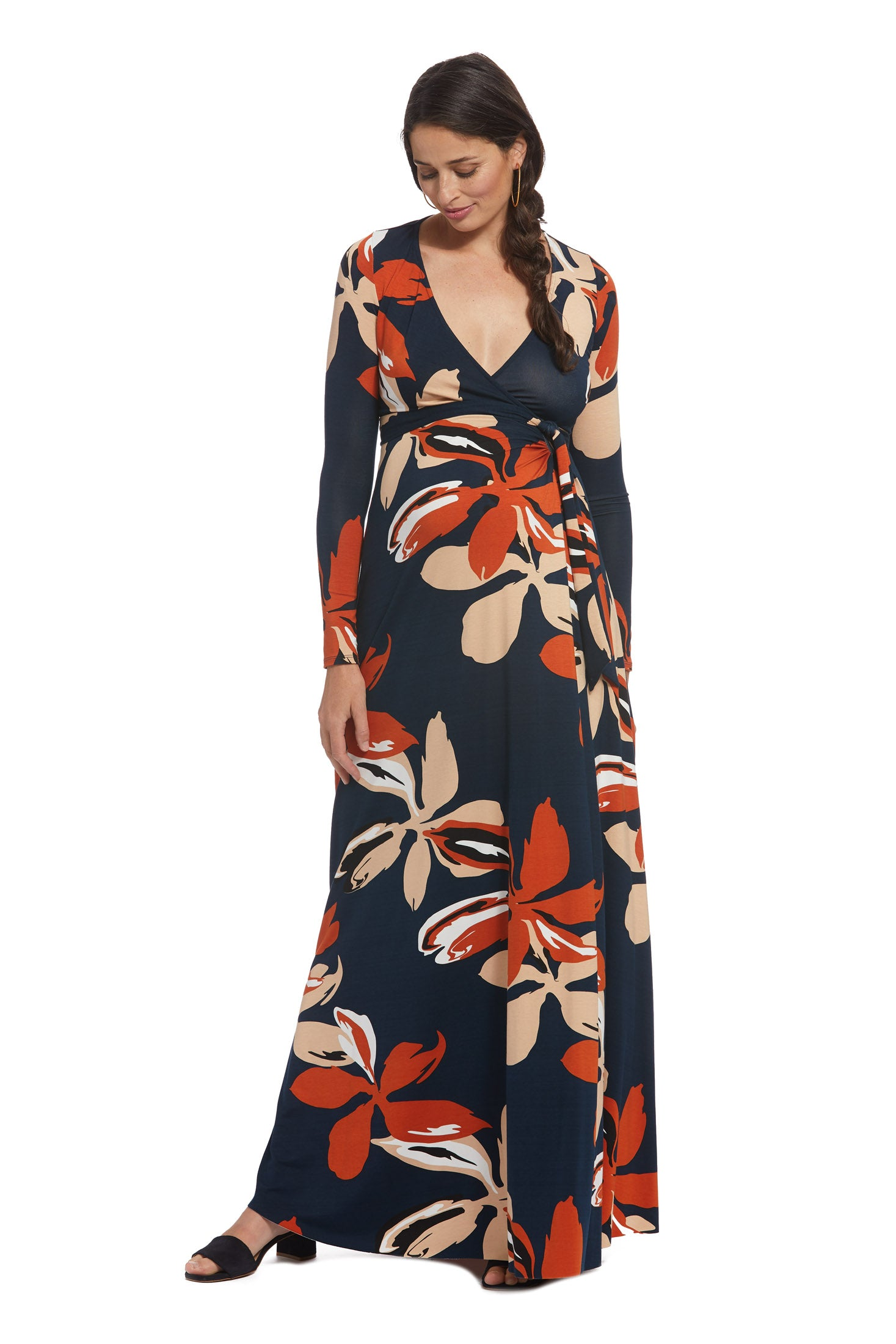 Harlow Dress - Pop Floral, Maternity