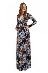 Harlow Dress Print - Folk Flower