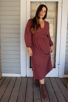 Linen Holland Dress - Plus Size