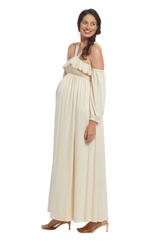 Inez Dress - Cream, Maternity