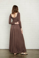 Isa Dress - Cocoa, Maternity