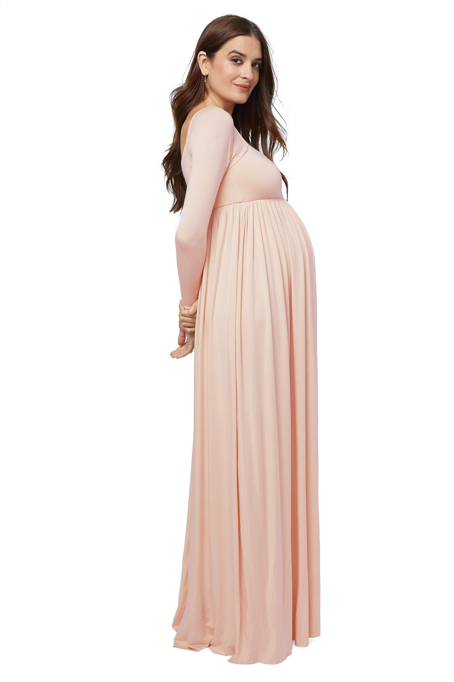 Jersey knit maternity dresses tops rachel pally isa dress divine maternity ombrellifo Choice Image