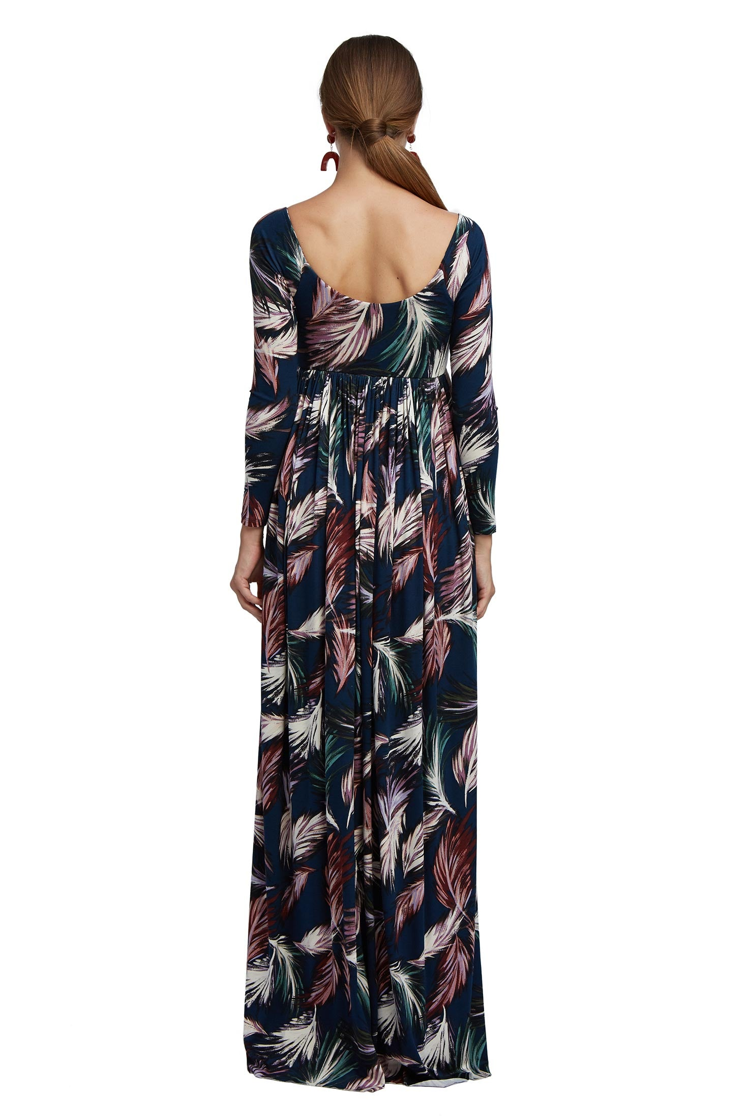 Isa Dress - Feather