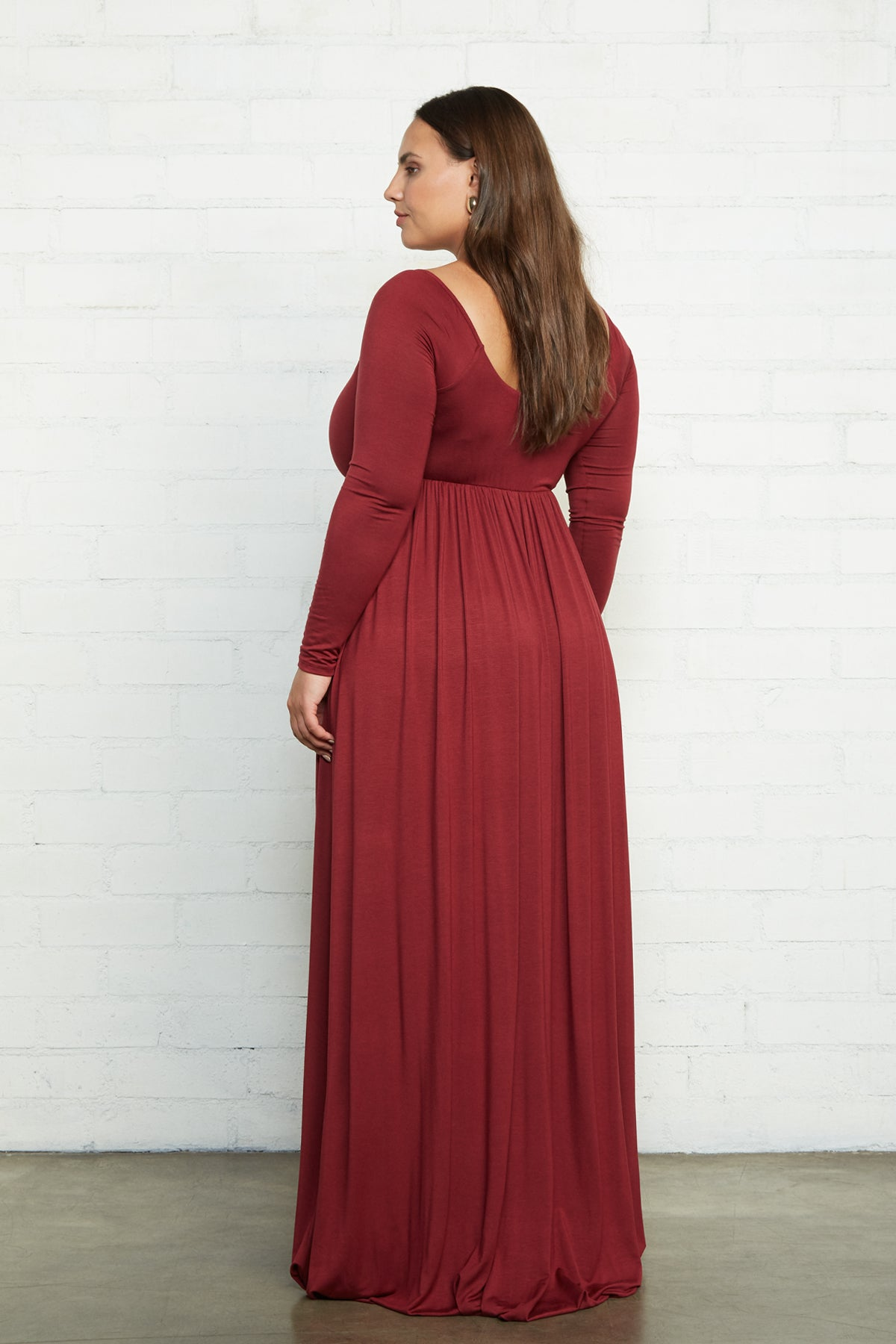 Isa Dress - Gamay, Plus Size