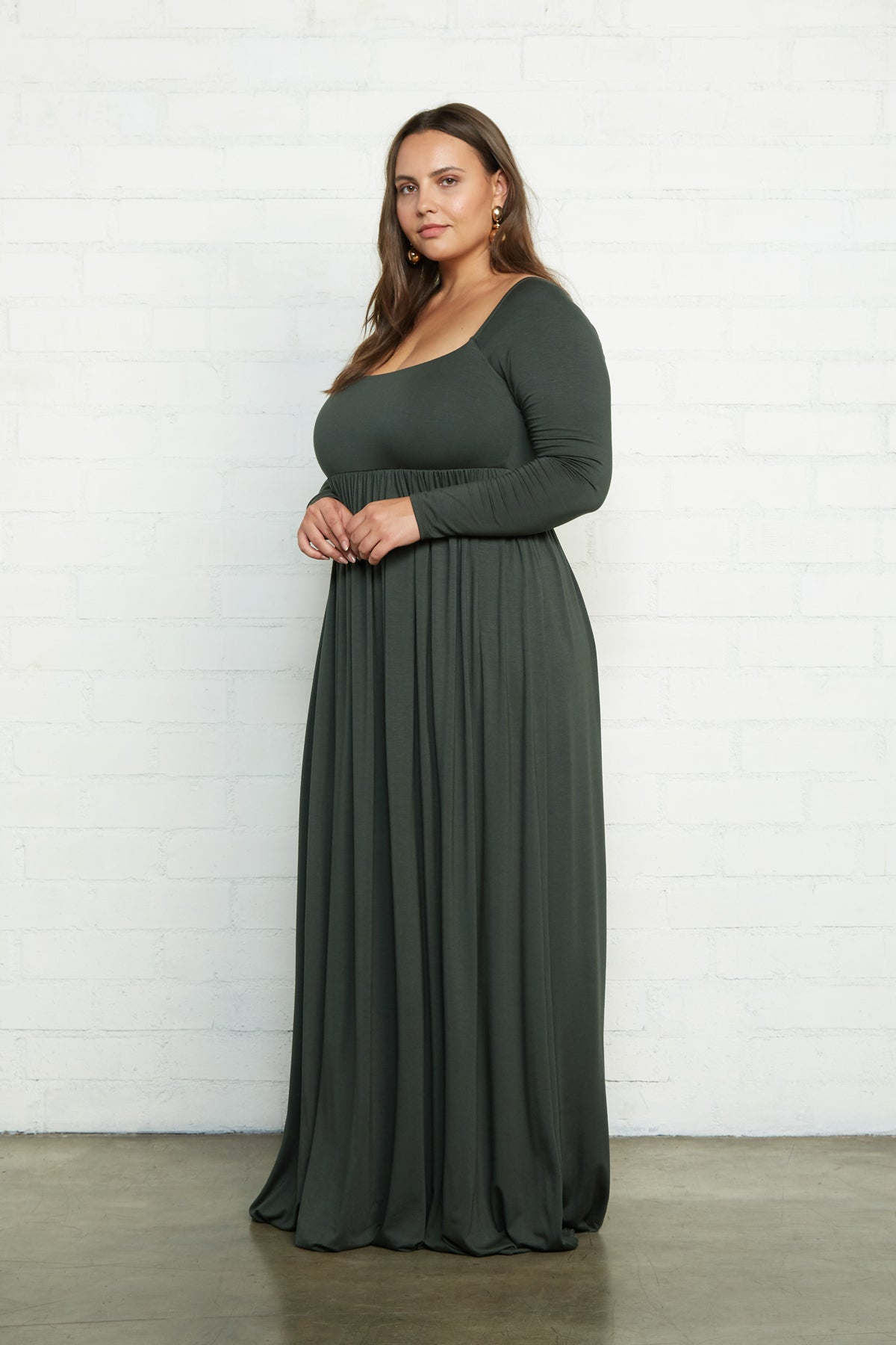Isa Dress - Juniper, Plus Size