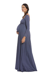 Isa Dress - Slate, Maternity