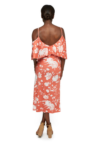 Jae Dress Print - Chipotle Peony