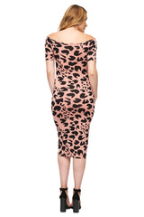 Mid-length Jagger Dress Print - Jaguar