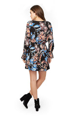 Jamie Dress Print - Folkflower
