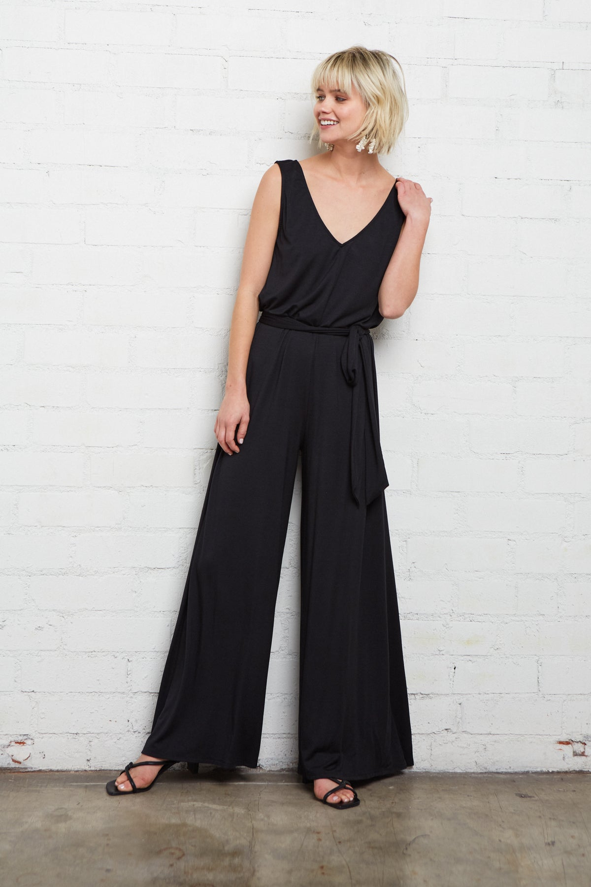 Jasmine Jumpsuit - Black