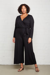 Jaylee Jumpsuit - Black, Plus Size