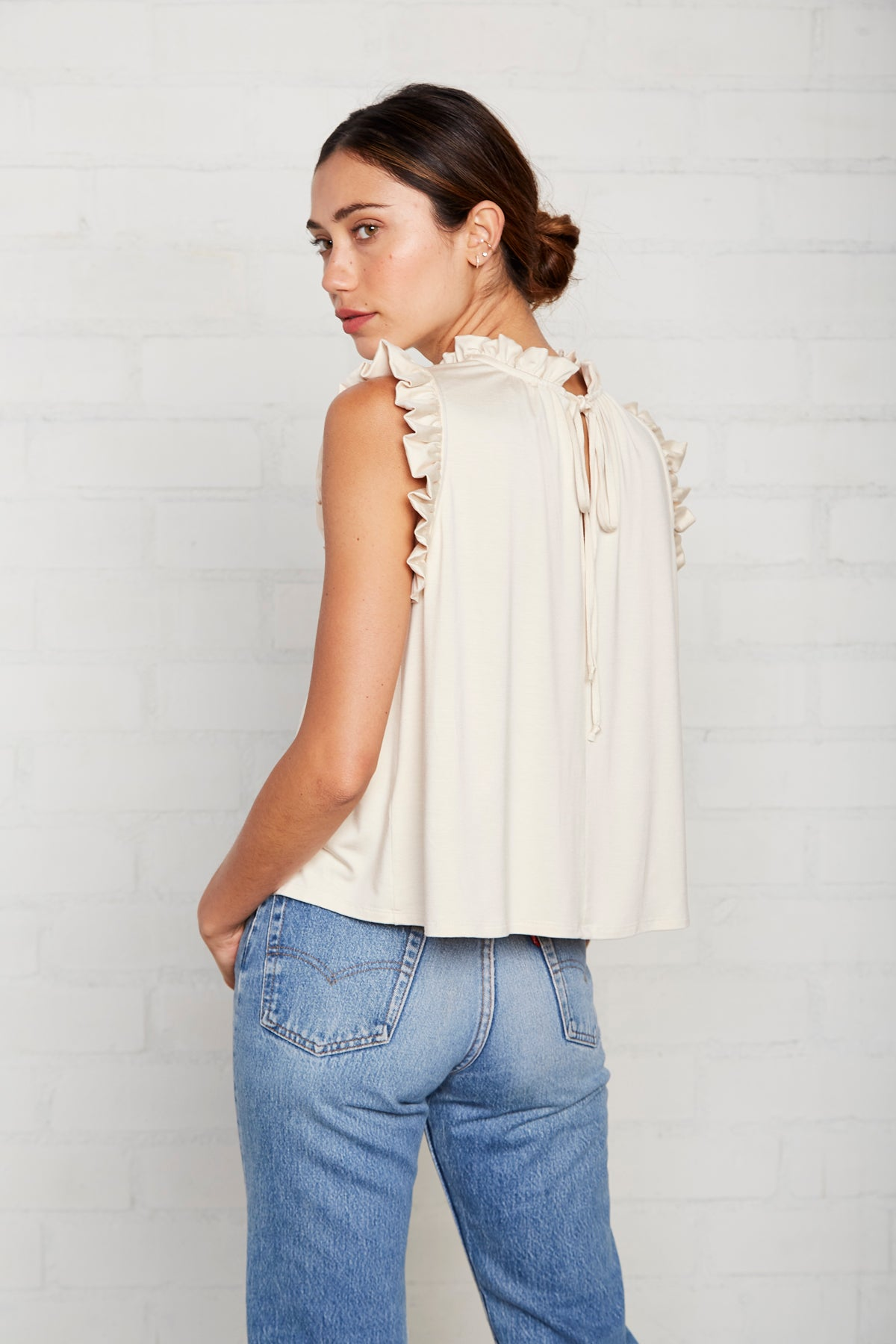 Phoebe Top - Cream