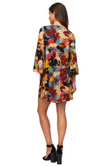 Jethro Dress Print - Foliage