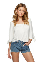 Judi Top - White