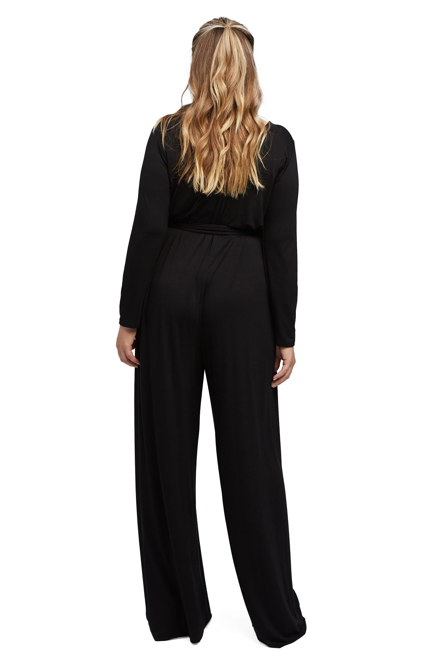 Judith Jumpsuit - Black, Plus Size
