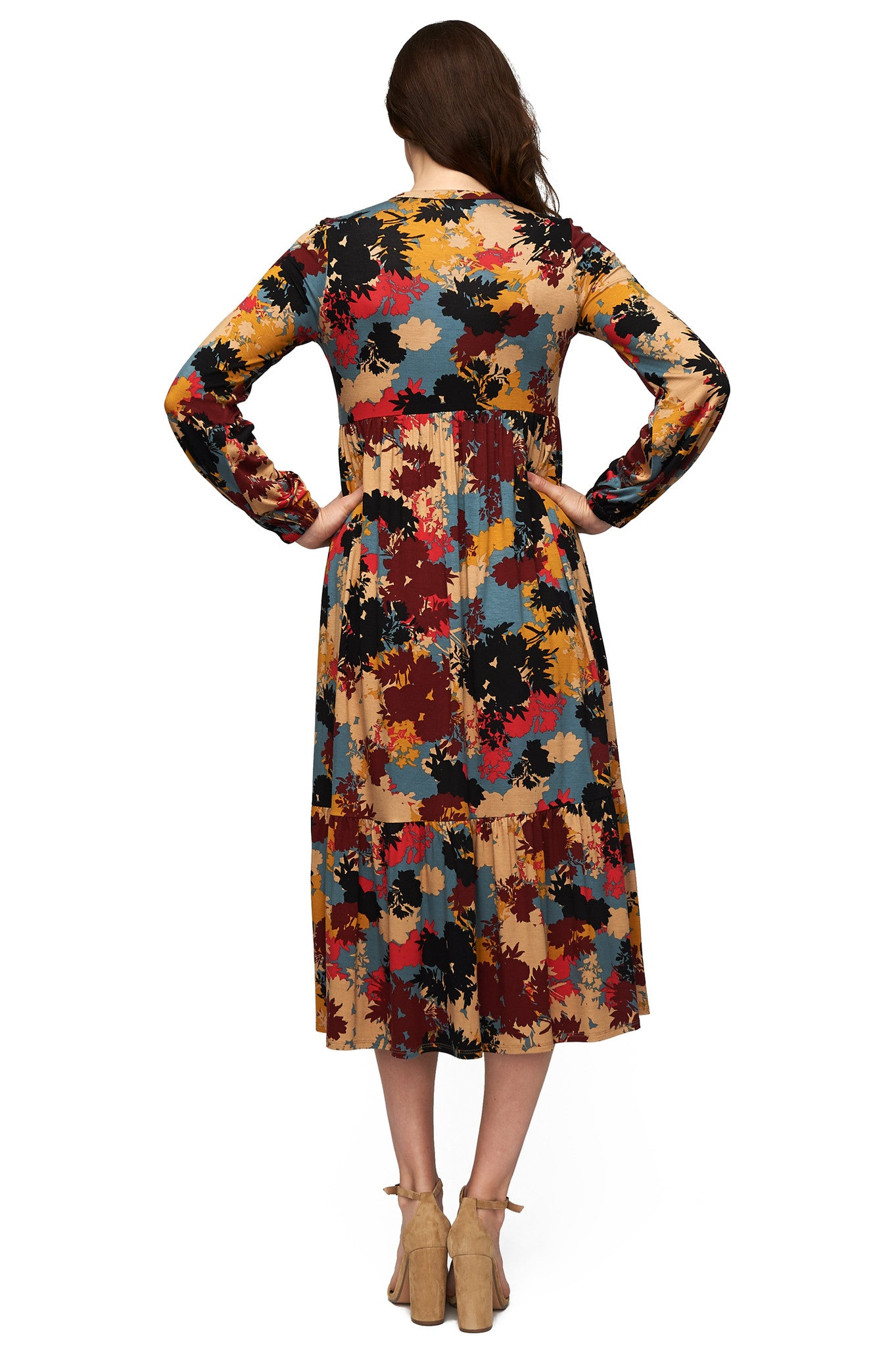 Kaemon Dress Print - Foliage