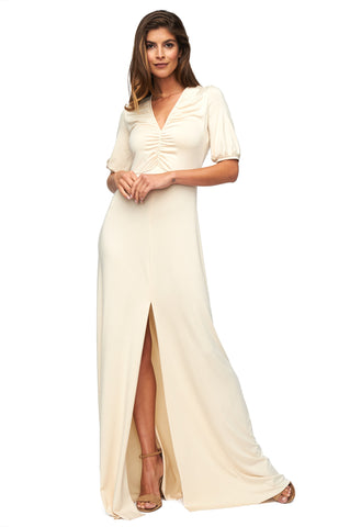 Karenza Dress - Cream