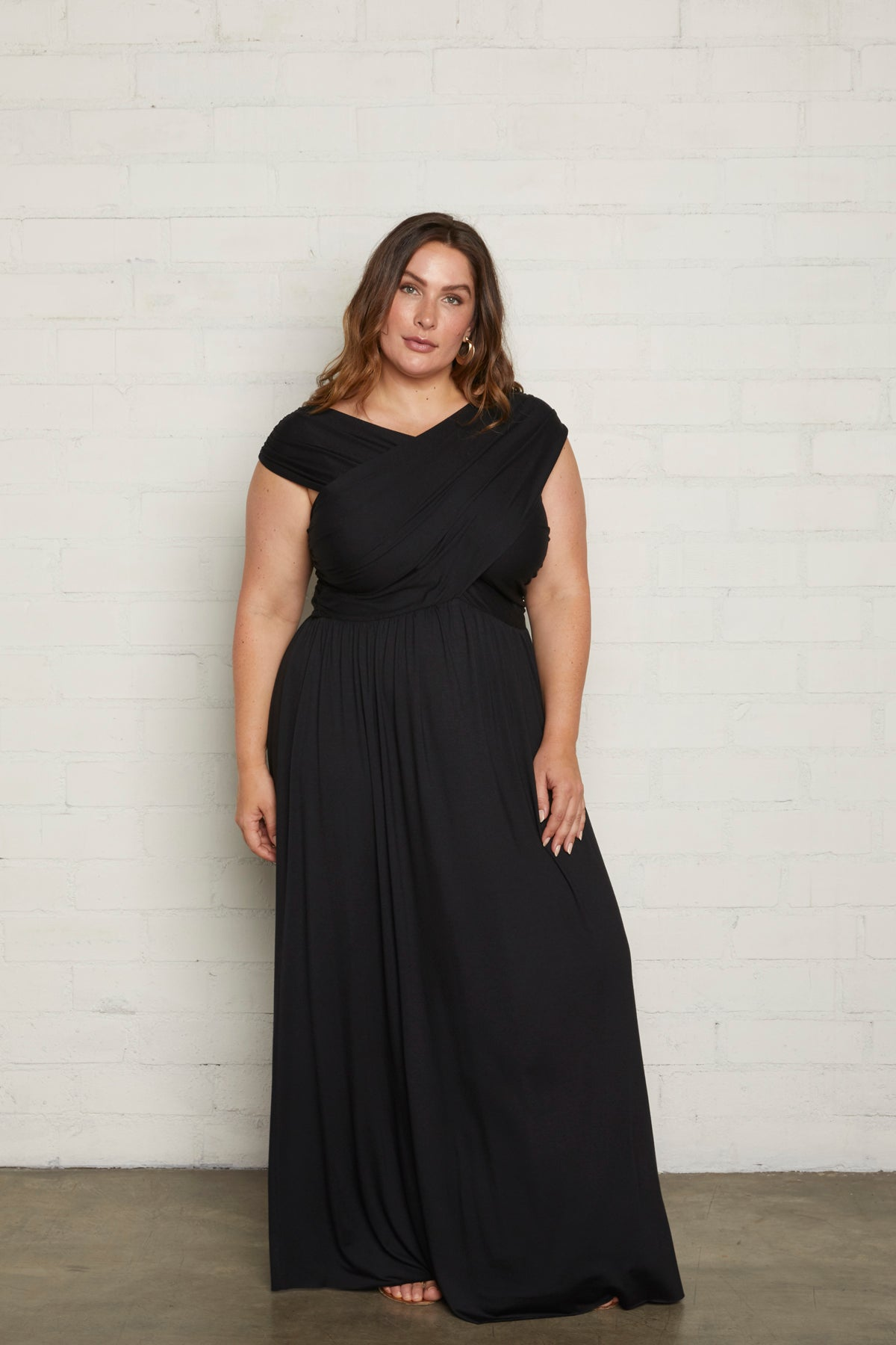 Kerry Dress - Black, Plus Size
