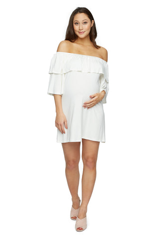 Kylian Dress - White