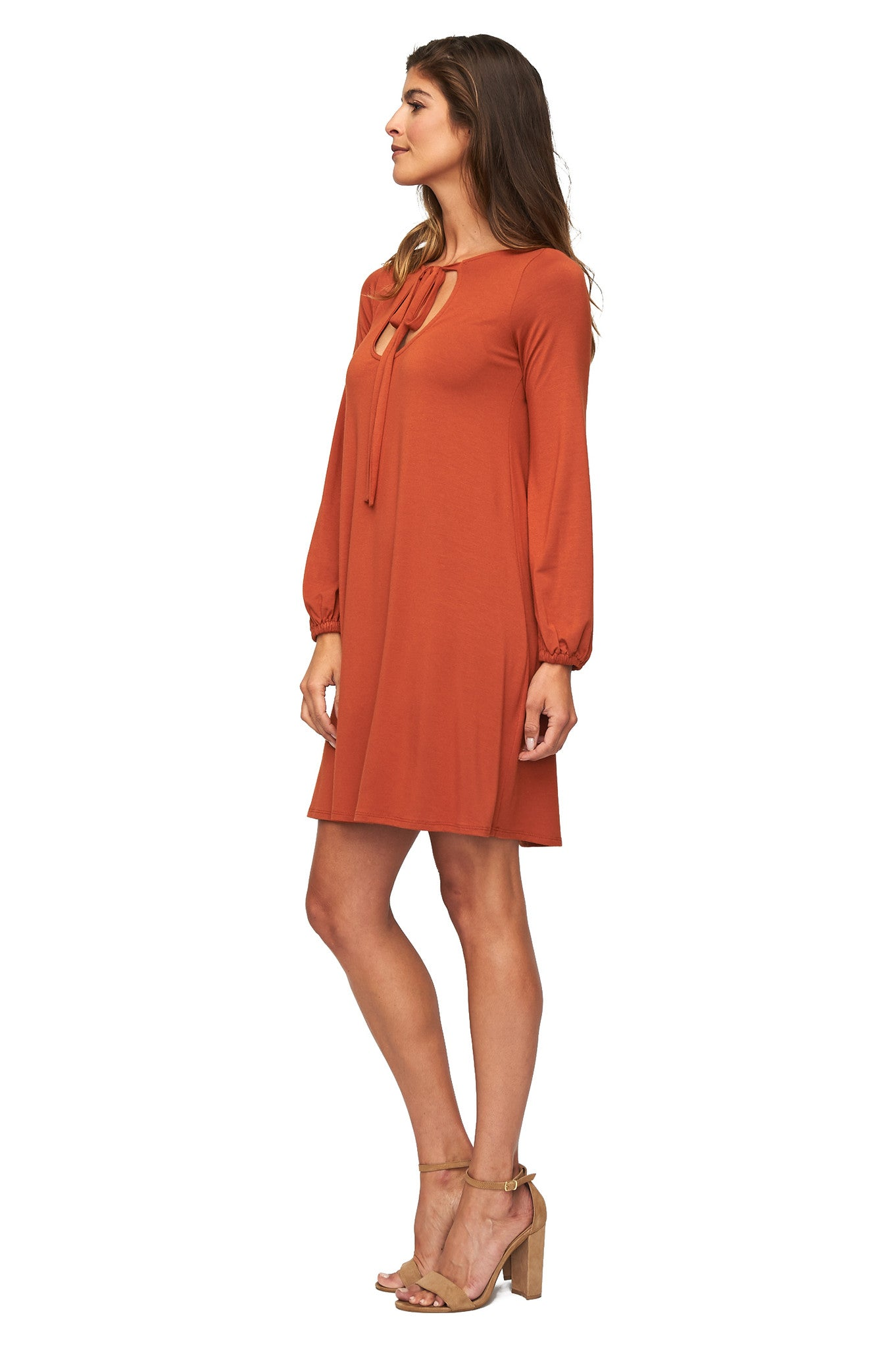 Kyrie Dress - Copper