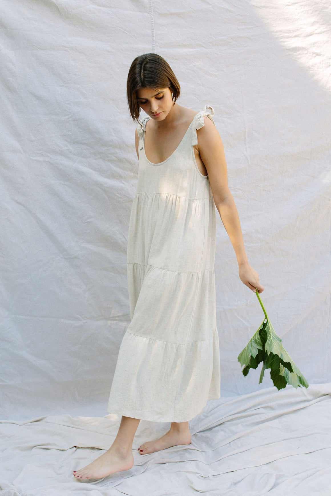Linen Adelaide Dress