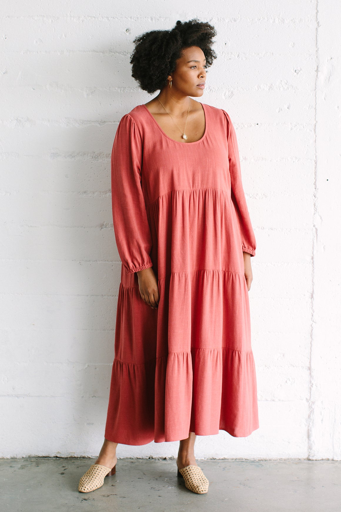 Linen Alice Dress - Plus Size