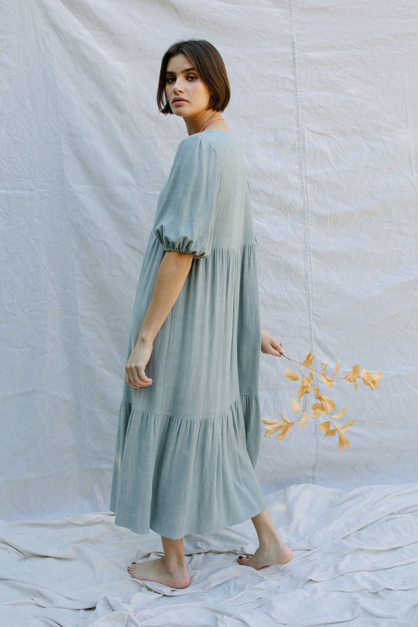 Linen Mae Dress - Pre-Order - Ships May 7th