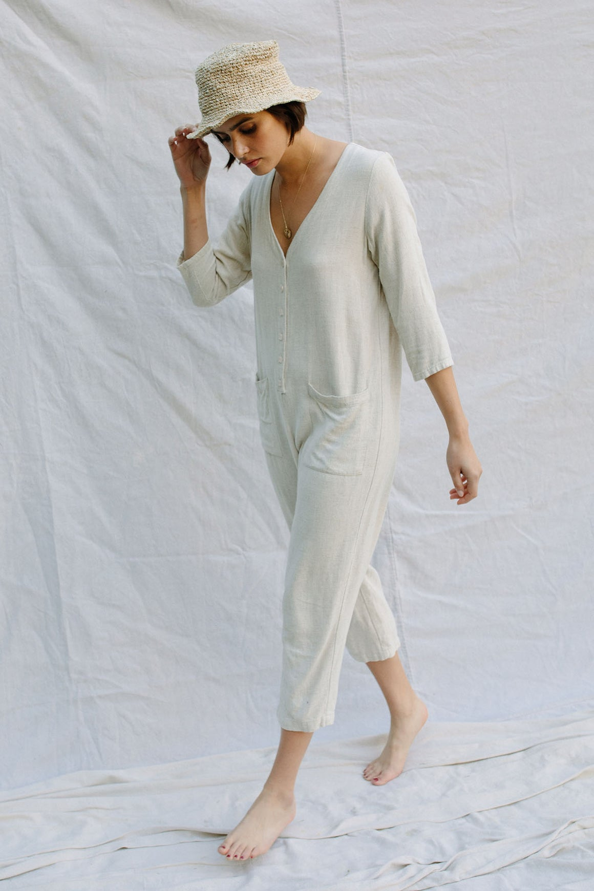 Linen Troy Jumpsuit