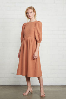Linen Canvas Roma Dress