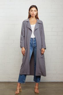 Linen Cary Trench