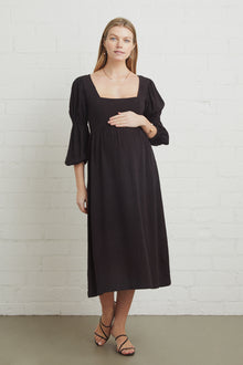 Linen Doreen Dress - Maternity