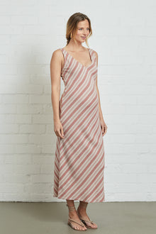 Linen Simona Dress - Maternity